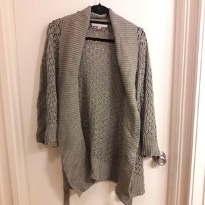 Old Navy Gray Sparkle Sweater